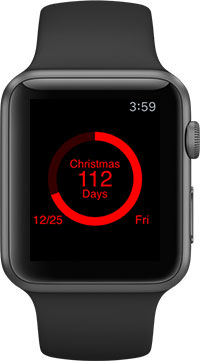 Christmas Countdown Pro Apple Watch App