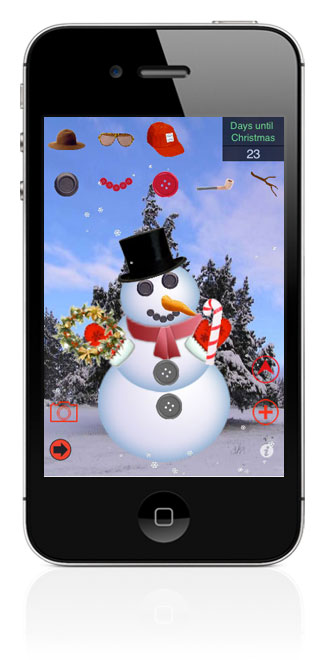 Christmas Experience for the iPhone