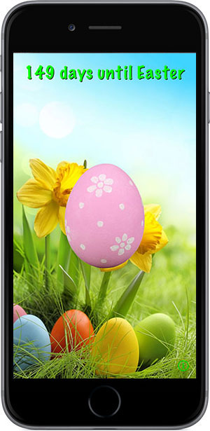 Easter Countdown Pro w/Push Notifications for the iPhone