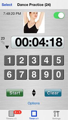 sport timer app